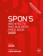 Spon's Architects' and Builders' Price Book 2020