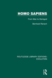 Homo Sapiens: From Man to Demigod