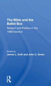 Religious Tradition, Denomination, and Commitment: White Protestants and the 1988 Election
