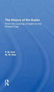 The History of the Sudan