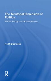 The Territorial Dimension of Politics