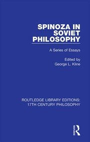Spinoza in Soviet Philosophy: A Series of Essays