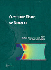 Constitutive Models for Rubber XI: Proceedings of the 11th European Conference on Constitutive Models for Rubber (ECCMR 2019), June 25-27, 2019, Nantes, France