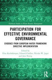 Participation for Effective Environmental Governance: Evidence from European Water Framework Directive Implementation