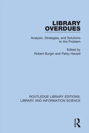 Library Overdues: Analysis, Strategies, and Solutions to the Problem