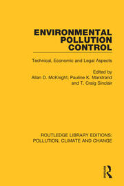 Environmental Pollution Control: Technical, Economic and Legal Aspects