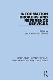 Information Brokers and Reference Services