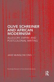 Olive Schreiner and African Modernism