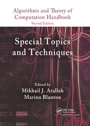 Algorithms and Theory of Computation Handbook, Volume 2: Special Topics and Techniques