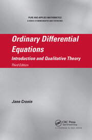 Ordinary Differential Equations: Introduction and Qualitative Theory, Third Edition
