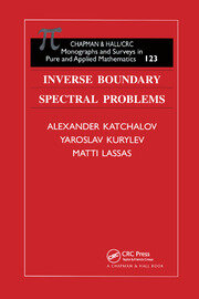 Inverse Boundary Spectral Problems