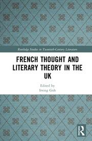 French Thought and Literary Theory in the UK