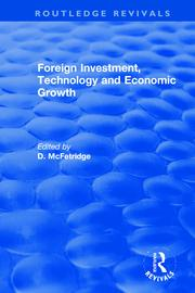 Foreign Investment, Technology and Economic Growth