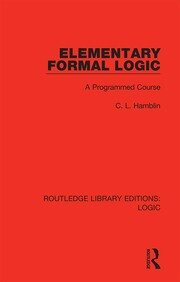 Elementary Formal Logic: A Programmed Course