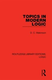 Topics in Modern Logic