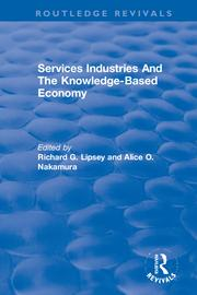 Services Industries And The Knowledge-Based Economy