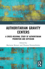 Authoritarian Gravity Centers: A Cross-Regional Study of Authoritarian Promotion and Diffusion