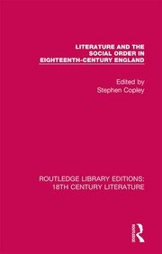 Literature and the Social Order in Eighteenth-Century England