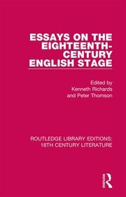 Essays on the Eighteenth-Century English Stage