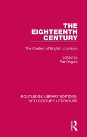 The Eighteenth Century: The Context of English Literature
