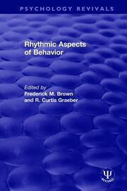 Rhythmic Aspects of Behavior