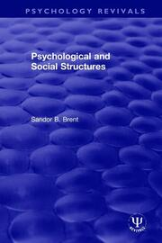 Psychological and Social Structures
