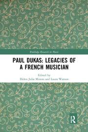 Dukas, critical conversations, and intellectual legacies