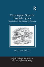 Christopher Smart's English Lyrics