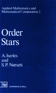 Order Stars: Theory and Applications