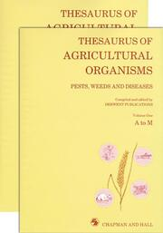 Thesaurus of Agricultural Organisms