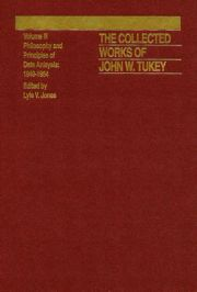 The Collected Works of John W. Tukey: Philosophy and Principles of Data Analysis 1949-1964, Volume III