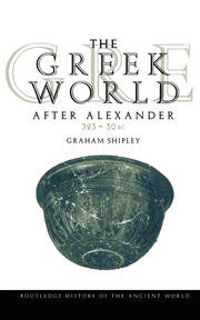 The Greek World After Alexander 323–30 BC