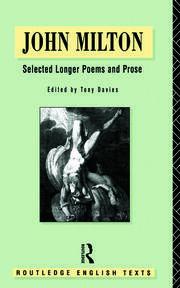 John Milton: Selected Longer Poems and Prose