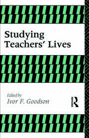 STUDYING TEACHERS LIVES - 1st Edition book cover
