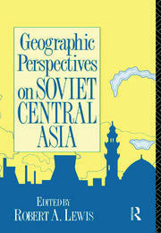 The Frontier and Colonialism in Russian and Soviet Central Asia