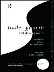 Trade, Growth and Development: Hansson