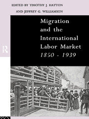 MASS MIGRATION, COMMODITY MARKET INTEGRATION AND REAL WAGE CONVERGENCE