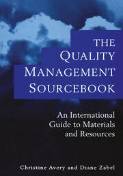 The Quality Management Sourcebook