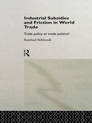Unilateral Regulation of Subsidies