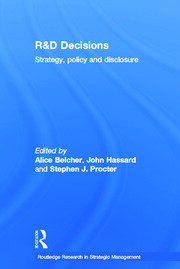 R&D Decisions: Strategy Policy and Innovations