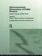 Macroeconomic Dimensions of Public Finance