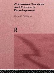 CONSUMER SERVICES & ECON DEV - 1st Edition book cover