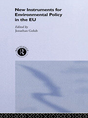 New Instruments for Environmental Policy in the EU