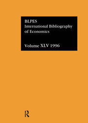 IBSS: Economics: 1996 Volume 45