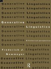Generative Linguistics: An Historical Perspective