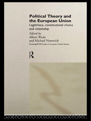 POLITICAL THEORY & EURO UNION - 1st Edition book cover