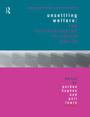 Unsettling Welfare: The Reconstruction of Social Policy