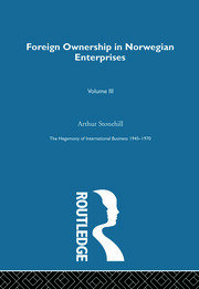 Foreign Ownership Norwegn Ent