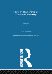 Foreign Ownership Canadn Indus