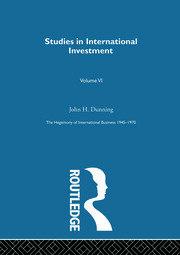 Studies Intnl Investment